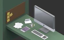 Espacio de trabajo productivo Fotos de archivo libres de regalías