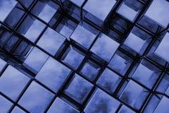 espacio del azul 3D Fotos de archivo libres de regalías