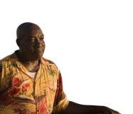 Espacio del Caribe de la copia del hombre Imagen de archivo libre de regalías