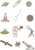 Espacio del Doodle libre illustration
