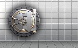 espacio en blanco en blanco 3d Ilustración del Vector