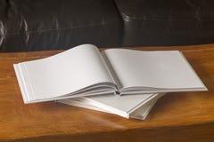 Espacio en blanco del libro imagen de archivo libre de regalías