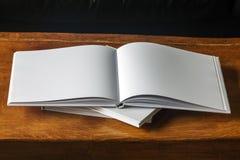 Espacio en blanco del libro Fotografía de archivo