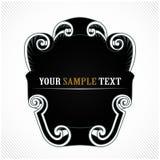 Espacio en blanco ligero de la vendimia Imagen de archivo libre de regalías