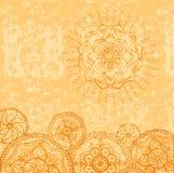 Espacio en blanco ornamental del grunge ilustración del vector