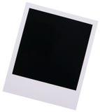 Espacio en blanco polaroid de la película Fotos de archivo
