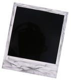 Espacio en blanco polaroid de la película Imagen de archivo