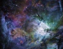 Espacio galáctico Fotos de archivo libres de regalías