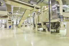 Espacio industrial Imagen de archivo libre de regalías