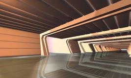 Espacio interior de scene Imagen de archivo