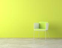 Espacio interior verde de la copia Fotos de archivo