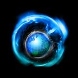 Espacio mundial Imagen de archivo libre de regalías