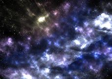 Espacio, nebulosa, estrella, galaxia, cielo, noche, estrellas, azul, extracto, astronomía, cosmos, universo, luz, oscuridad, cons Foto de archivo