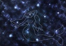 Espacio, nebulosa, estrella, galaxia, cielo, noche, estrellas, azul, extracto, astronomía, cosmos, universo, luz, oscuridad, cons Fotos de archivo