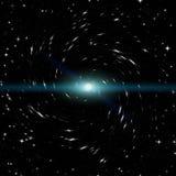 Espacio por completo de estrellas Fotos de archivo