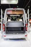 Espacio posterior de Benz Airstream Interstate Ext fotos de archivo libres de regalías