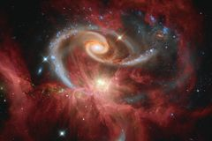 Espacio profundo de la belleza Ideal de la fantasía de la ciencia ficción para el papel pintado
