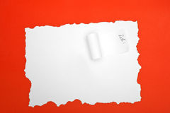 Espacio vacío para los mensajes Imagen de archivo libre de regalías