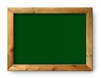 Espacio verde negro de la copia de la tarjeta del negro de la pizarra Imagen de archivo libre de regalías