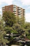 Espacio verde urbano Fotos de archivo libres de regalías