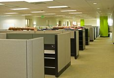 Espacios de oficina Imagen de archivo