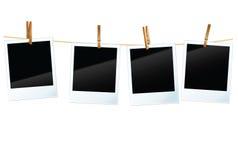 Espacios en blanco de la foto Fotos de archivo libres de regalías