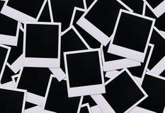 Espacios en blanco polaroid de la película Foto de archivo libre de regalías