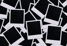 Espacios en blanco polaroid de la película Fotografía de archivo libre de regalías