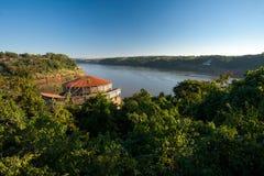 Espaco das Americas. In Foz do Iguazu, Brazil royalty free stock photo