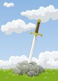 Espada Fotografia de Stock