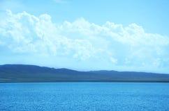 Espada de Jiro do lago Qinghai Fotografia de Stock Royalty Free