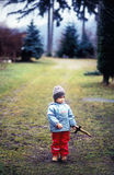 Espada de madeira Imagens de Stock Royalty Free