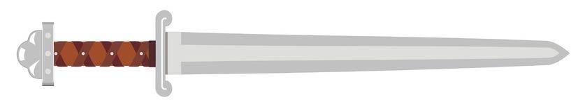 Espada de Vikingo Imagen de archivo libre de regalías