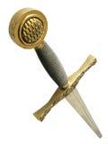 Espada del caballero imágenes de archivo libres de regalías