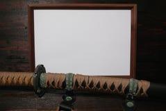 Espada del samurai de Katana Imagenes de archivo