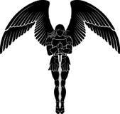 A espada do arcanjo medita ilustração stock
