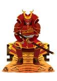 Espada do japonês do samurai Imagens de Stock Royalty Free