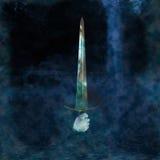 Espada do lago imagens de stock