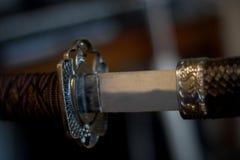 Espada do samurai imagem de stock