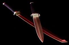 Espada do samurai Foto de Stock