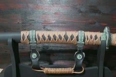 Espada do samurai de Katana fotos de stock