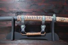 Espada do samurai de Katana fotografia de stock royalty free