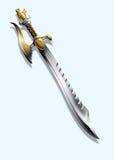 Espada - dragão Imagens de Stock