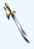 Espada - dragón Imagenes de archivo