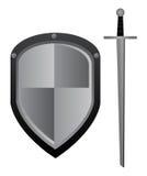 Espada e protetor Foto de Stock
