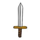 Espada fácil Imágenes de archivo libres de regalías