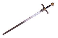 Espada medieval Fotografia de Stock