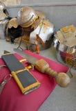 Espada militar romana antigua Imágenes de archivo libres de regalías