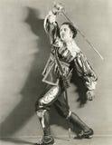 espadachín Imágenes de archivo libres de regalías
