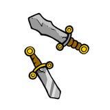 Espadas Imagen de archivo